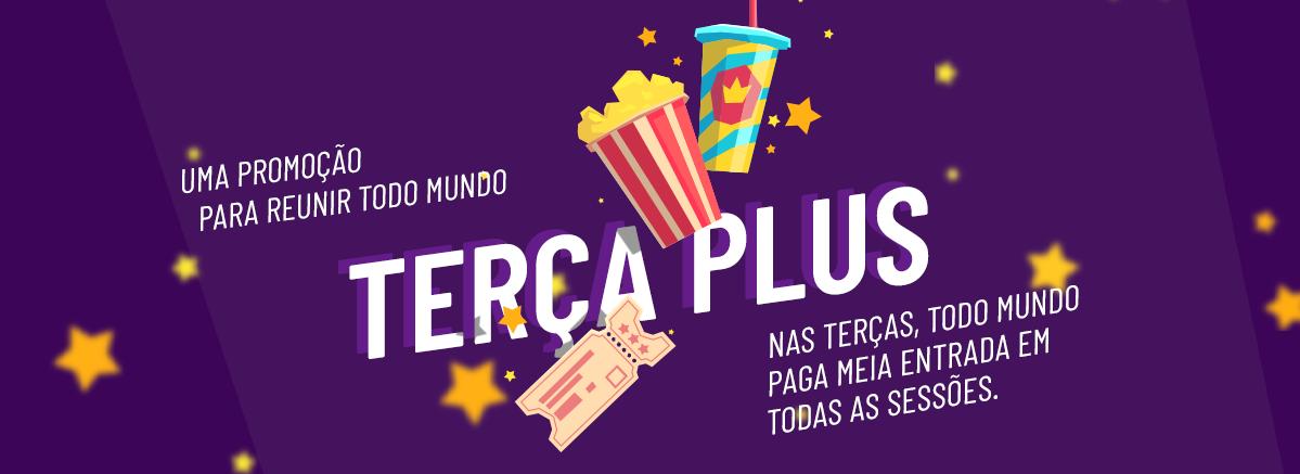 Terça Plus - Cinema Cineplus