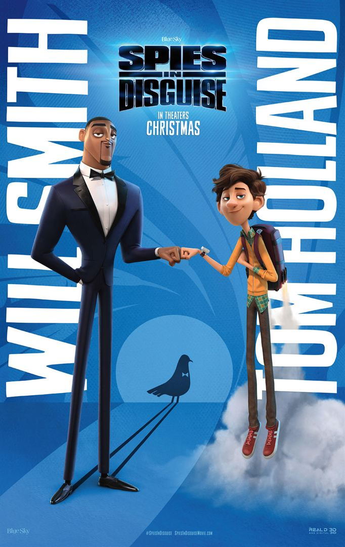 Spies in Disguise - Cinema Cineplus Curitiba